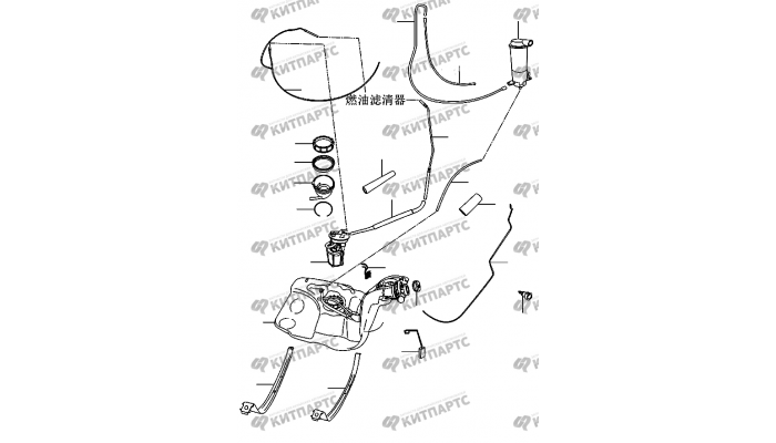 Топливная система Chery Amulet (A15)