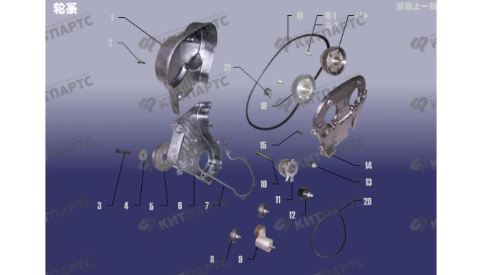 Газораспределительный механизм Chery Tiggo (T11)