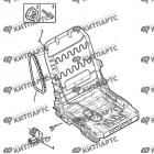 Подушка безопасности сиденья пассажира