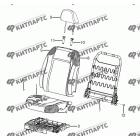 Сиденье пассажира - механизмы