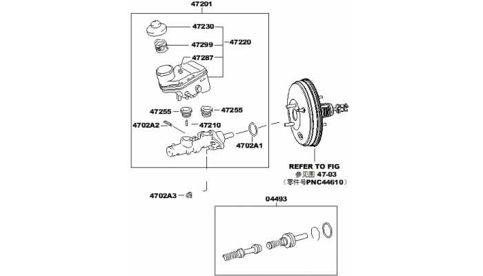 Главный тормозной цилиндр FAW V5