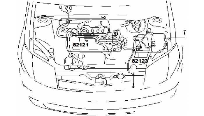 Жгут проводов двигателя FAW V5