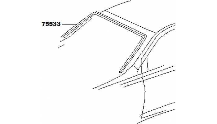 Уплотнитель лобового стекла FAW V5