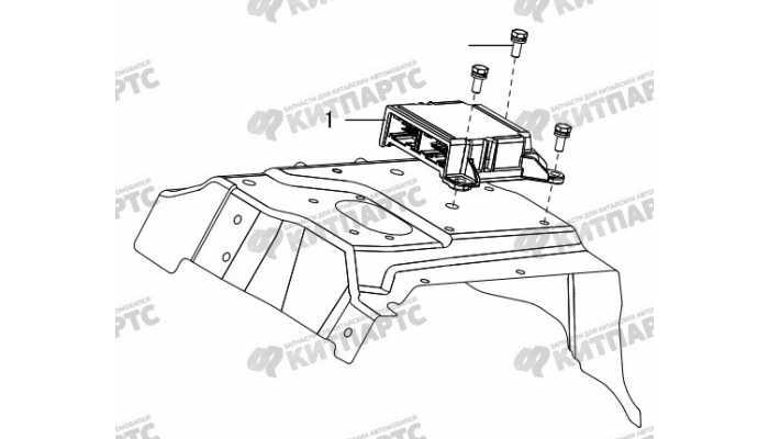 Блок управления двигателем Great Wall Hover H5