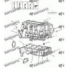 Блок цилиндров (1,5 L DVVT)