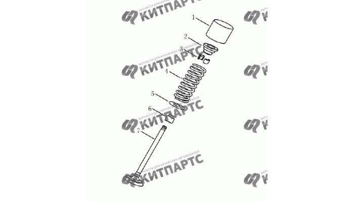 Клапан (1,5 L DVVT) Geely Emgrand (EC7)