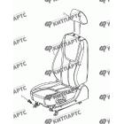 Сиденье водительское в сборе (электропривод)