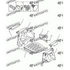 Обивка багажника (хетчбэк)