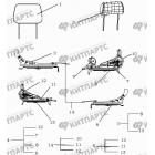 Комплекты ремонтные сидений