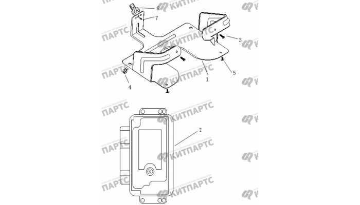 Блок управления двигателем Geely Vision (FC)